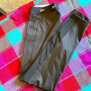 Never worn Reebok mesh panel tights